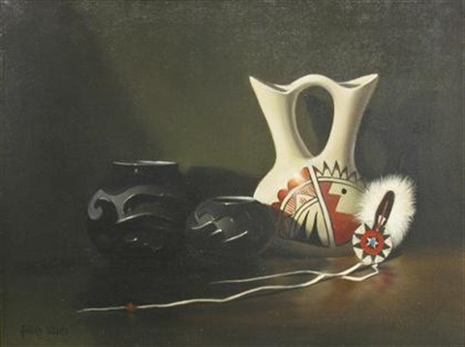 Acoma Wedding Vase By Richard Weers On Artnet