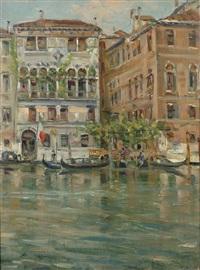 venezia - sul canal grande by giovanni campriani