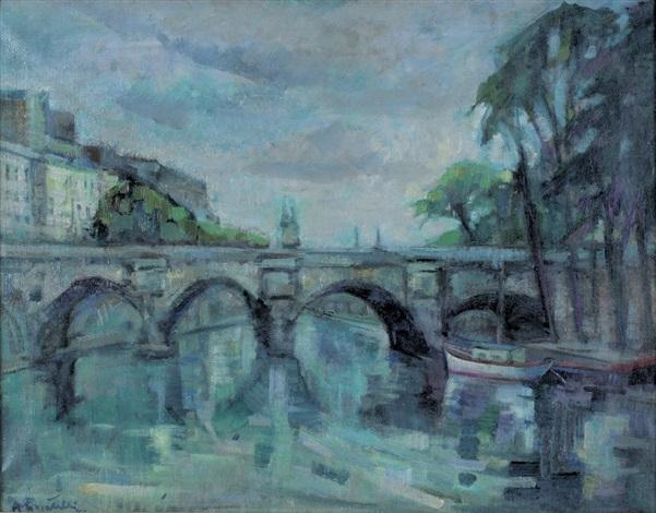 il ponte sul fiume by raffaello locatelli