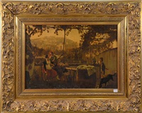 paysage italien animé by frans vervloet