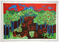under a blood red sky no. 7 by faith ringgold