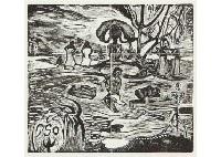 mahana atua by paul gauguin