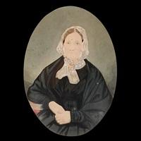 portrait of a lady by edwin deakin