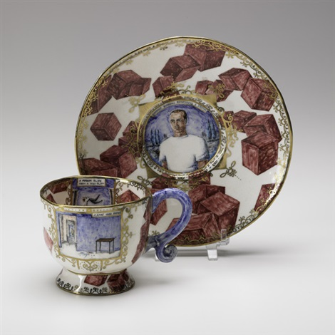 cup and saucer by anne kraus