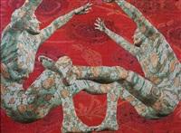 dance in the flower garden by edo pillu