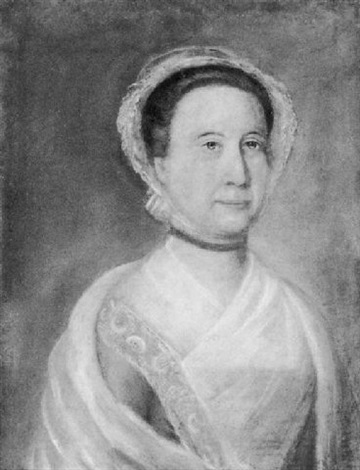 portrait of the widow of colonel benjamin pickman abigail love rawlings of salem by benjamin blyth