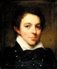 portrait of master waldo (son of the artist) by samuel lovett waldo