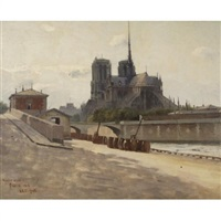 notre dame, paris by john severinus conway