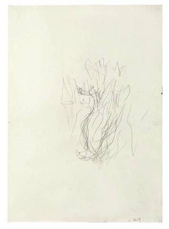untitled adler by georg baselitz