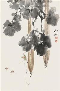 丝瓜草虫 by xiao lang