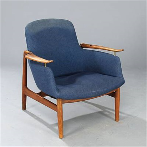 Nv 53 Easy Chair By Finn Juhl