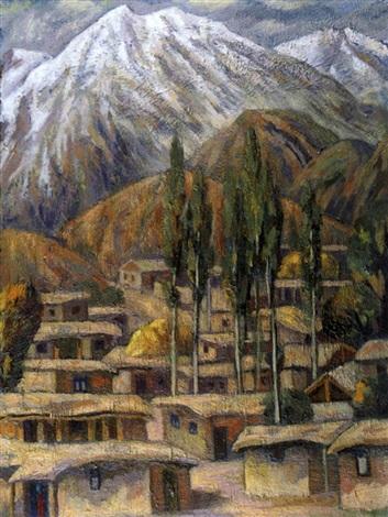 landschaft in kirgisistan by issufdjan sangov