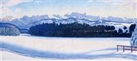 alpes enneigées, pays d'enhaut by johannes ammann