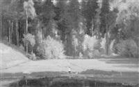 wiese und wald (erzgebirge) by paul riess