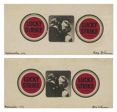 untitled lana turner lucky2 works by ray johnson