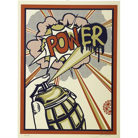 imperial glory and power 2 works by shepard fairey
