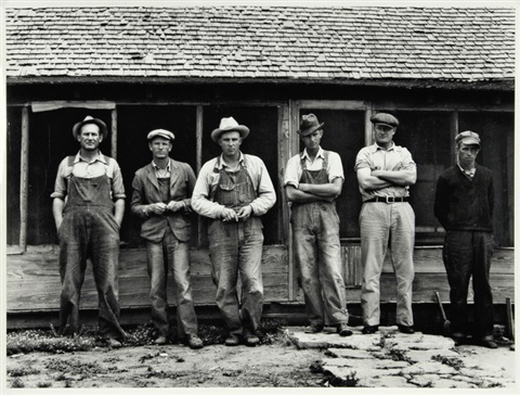 six tenant farmers without farms goodlet hardeman county texas by dorothea lange