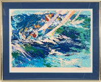 high seas sailing by leroy neiman