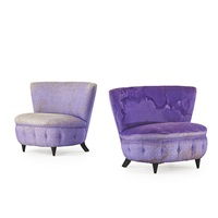 lounge chairs (pair) by gilbert rohde