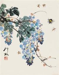 紫藤草虫 by xiao lang