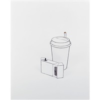 representation no. 71 (coffee and cigarettes) by cynthia greig