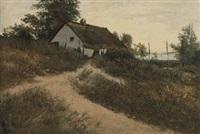 pommersche landschaft by hans schleich