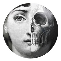 plates from the tema e variazioni series (10 works) by piero fornasetti