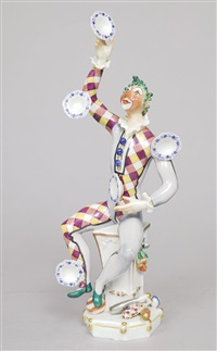 a juggling clown by peter strang