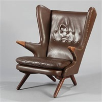 wing chair (model 91) by svend skipper