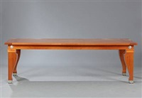rectangular dining table by leon krier