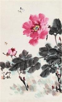 牡丹图 by xiao lang