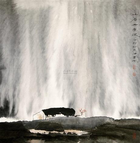山居雨意浓 by bai peng
