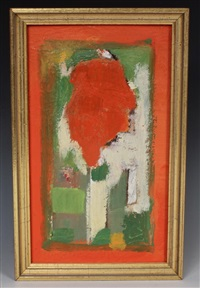 abstract study by hans hofmann