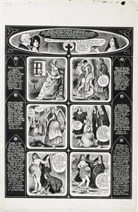 marie gabrielle de st. eutrop, planche 42 de l'album by georges pichard