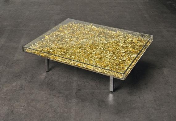 Table Dor By Yves Klein On Artnet