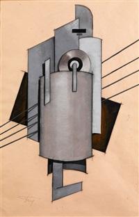 entwurf für ein counterrelief (design) by vladimir tatlin