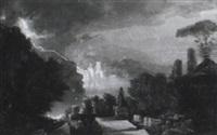 klassisk landskab by poulain (unattributable)