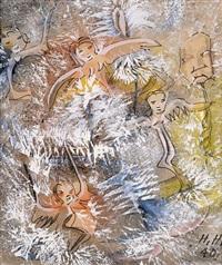 schneegestöber by hannah höch