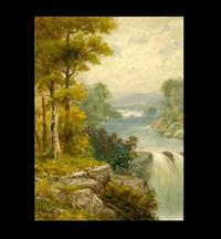 river landscape by g.l. waring
