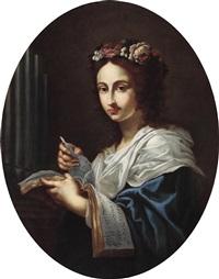 die heilige cäcilia by cesare dandini