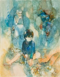 bleu comme l'enfance by jean-baptiste valadie