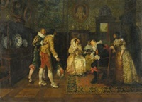 the prospective suitor by françois brunery