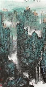 landscape by ji zhenmin