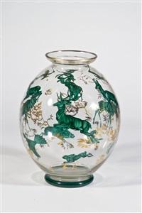 vase mit tieren by alexander pfohl