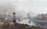 a view of butt bridge, dublin by rose maynard barton