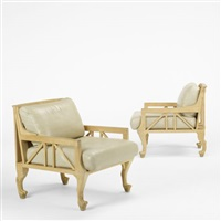 lounge chairs (pair) by john hutton