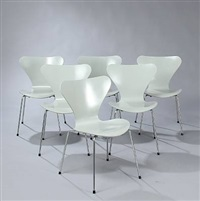 dining room suite (set of 7) by piet hein and arne jacobsen
