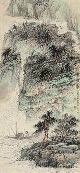 峡船图 by wu lifu