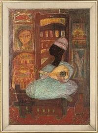 egyptian minstrel by omar el-nagdi