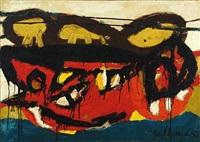 landschap met haakt by guillaume lo-a-njoe